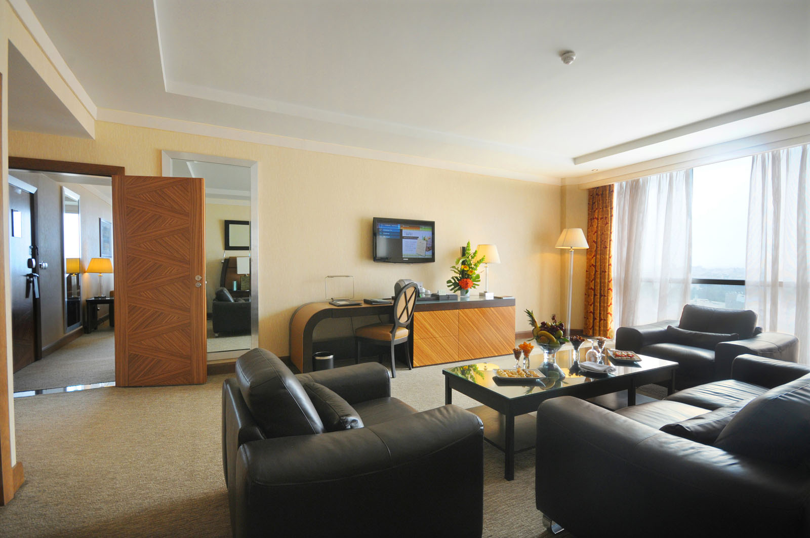 Diplomatic Suite at Kenzi Tower Hotel in central Casablanca, Mor
