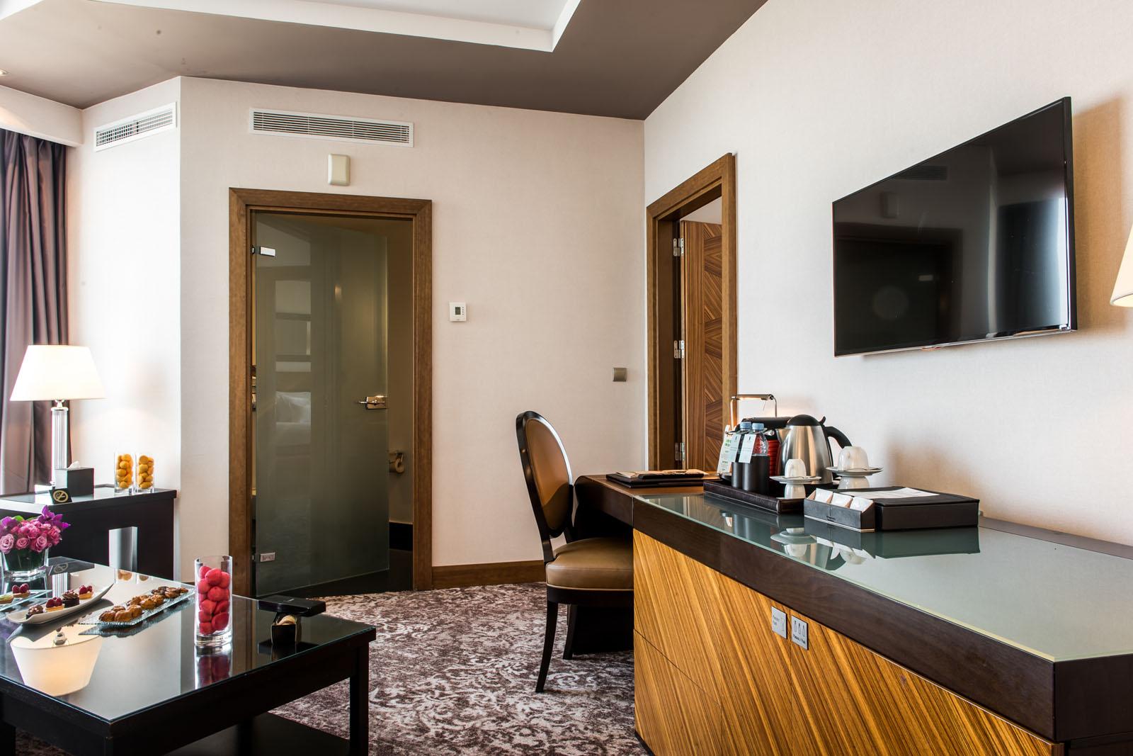 Junior Suite at Kenzi Tower Hotel in central Casablanca, Morocco