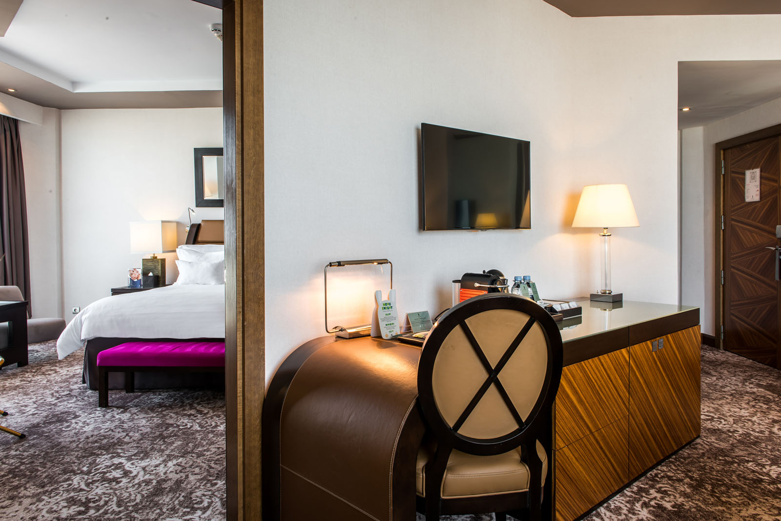 One-bedroom Suite at Kenzi Tower Hotel in central Casablanca, Mo