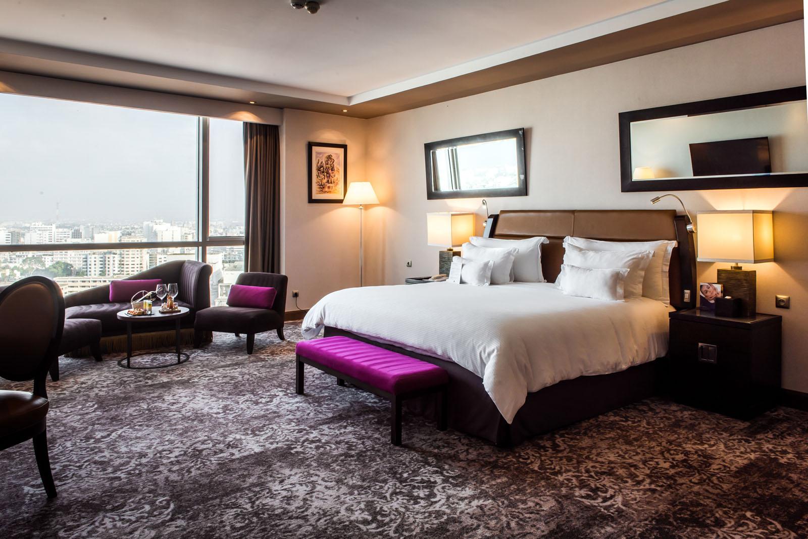 Premium Sky Suite at Kenzi Tower Hotel in central Casablanca, Mo