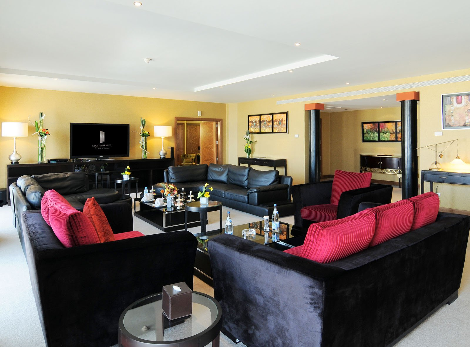 Presidential Suite at Kenzi Tower Hotel in central Casablanca, M