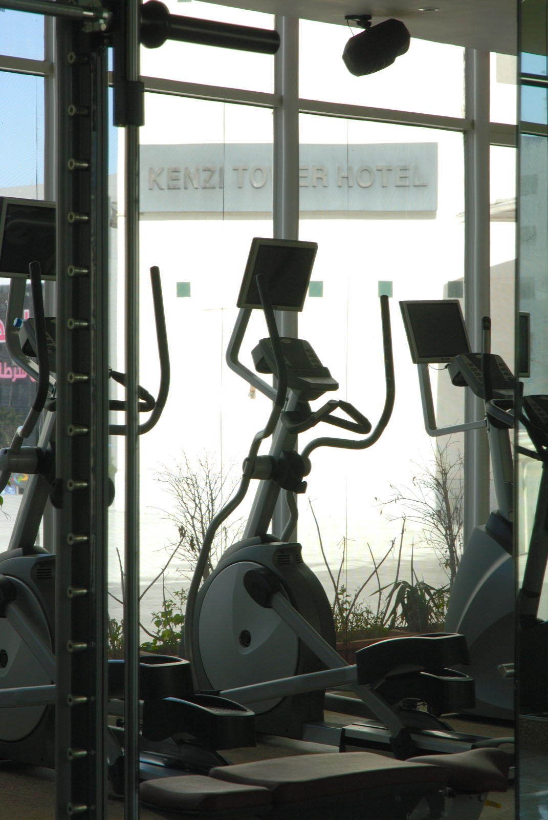 Fitness at Kenzi Tower Hotel in central Casablanca, Morocco