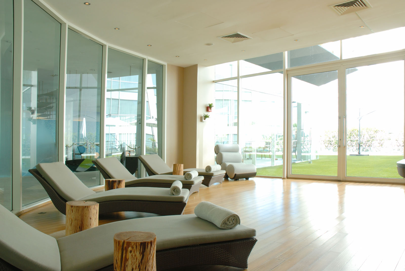 Spa at Kenzi Tower Hotel in central Casablanca, Morocco