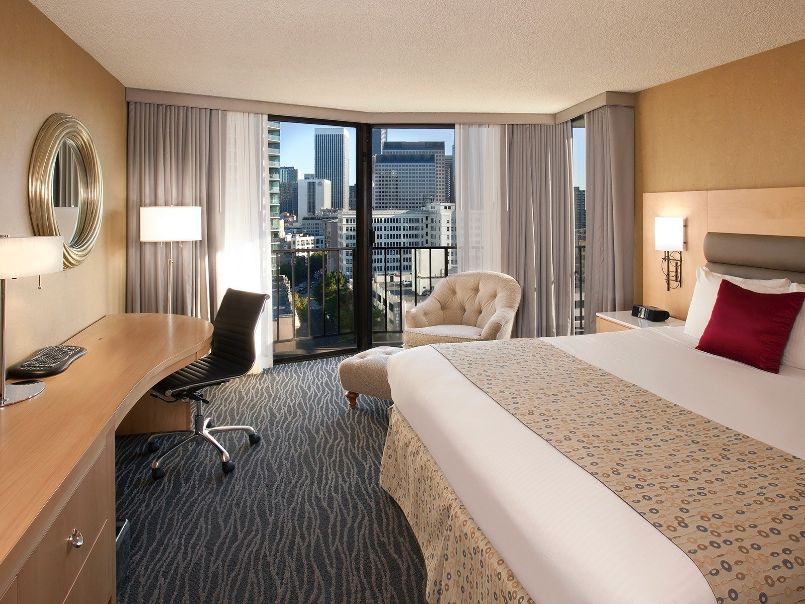 Executive or Premier Corner King Room at Warwick Seattle