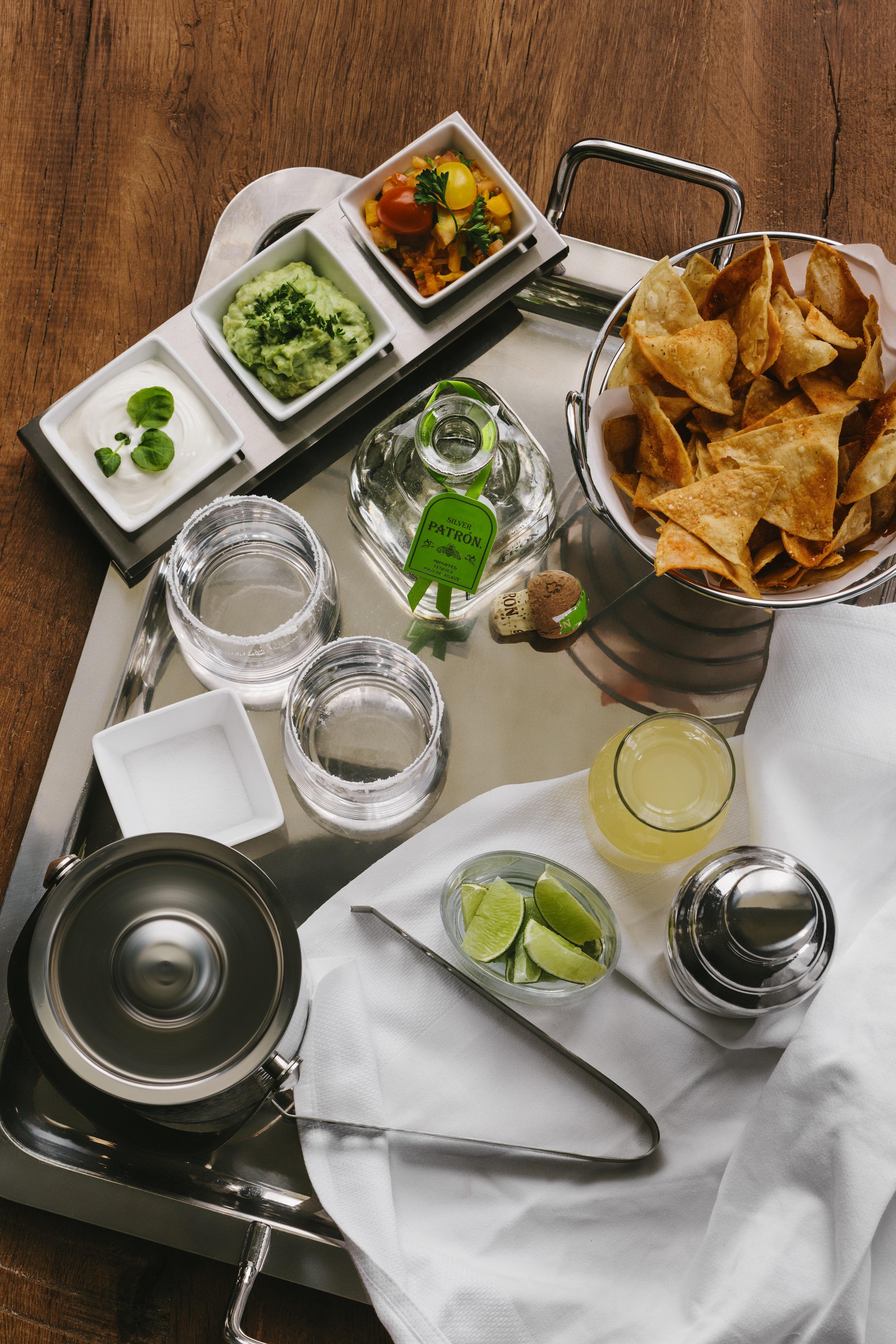 Ultimate margarita serving tray