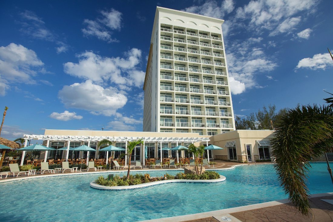 Warwick Paradise Island Bahamas facade and pool