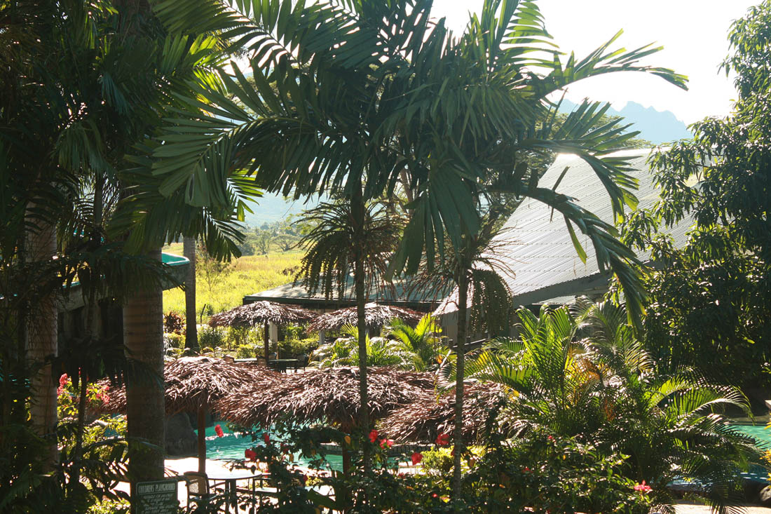 Outside overlooking Pool