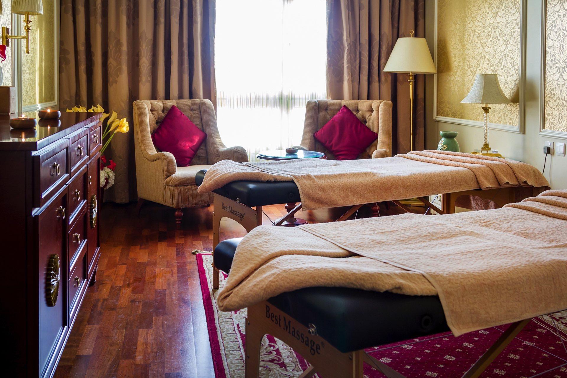 Massage Room at Warwick Doha