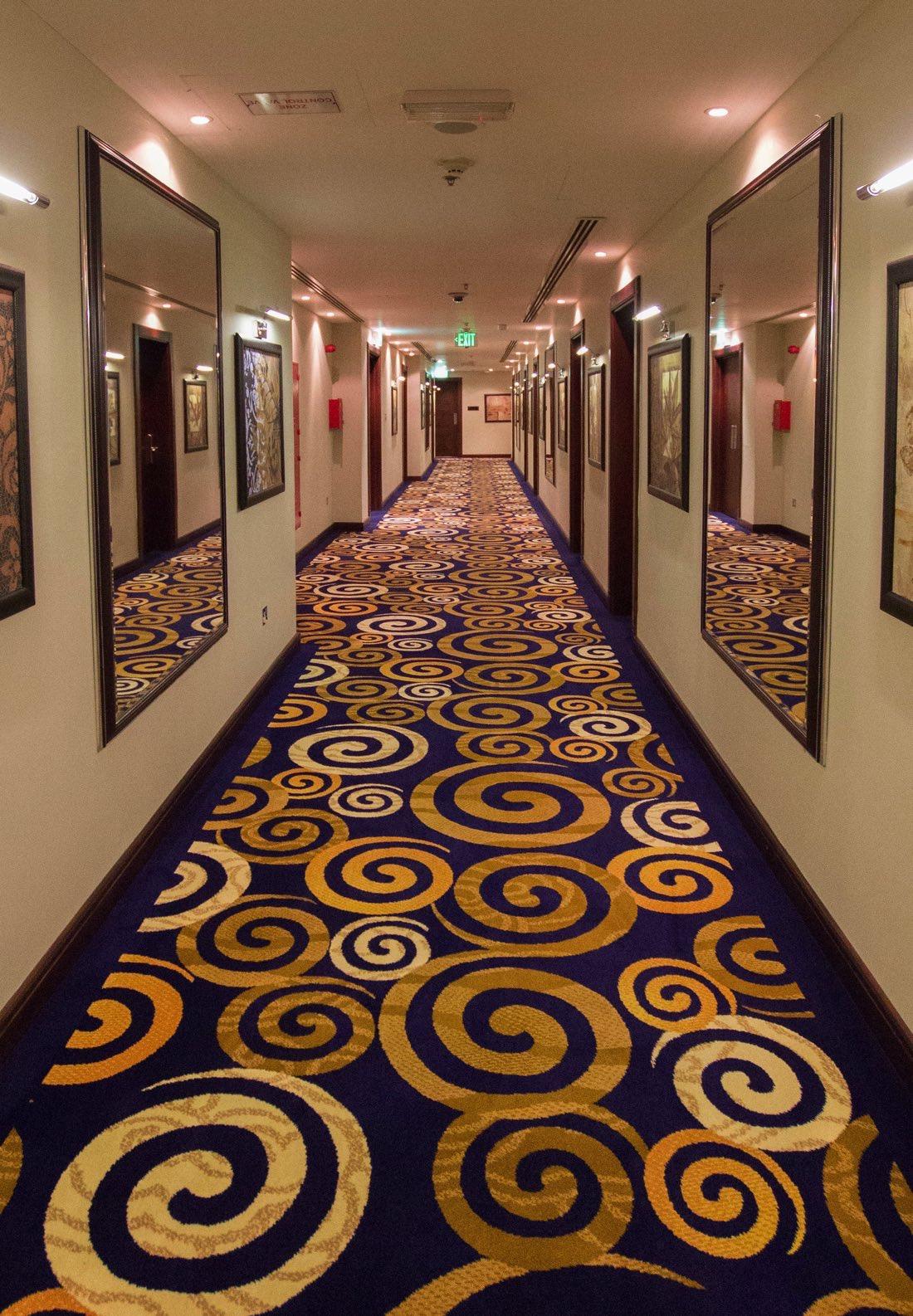 Strato Hotel by Warwick Hallway (vertical)