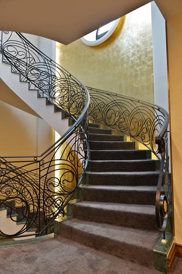 Staircases at warwick Ankara