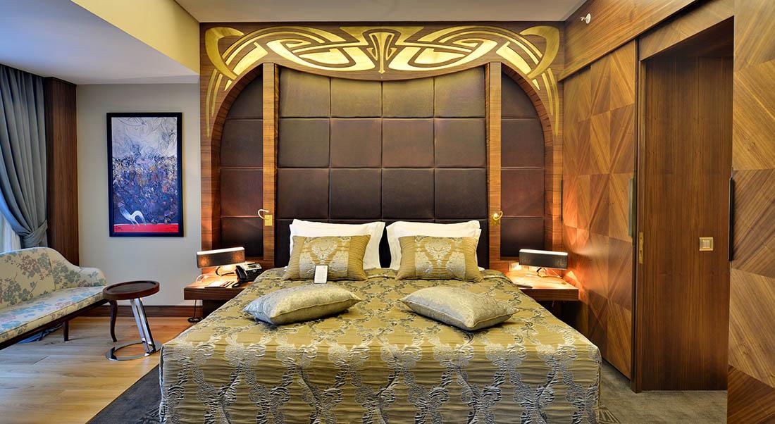 Suite Bedroom at Warwick Ankara