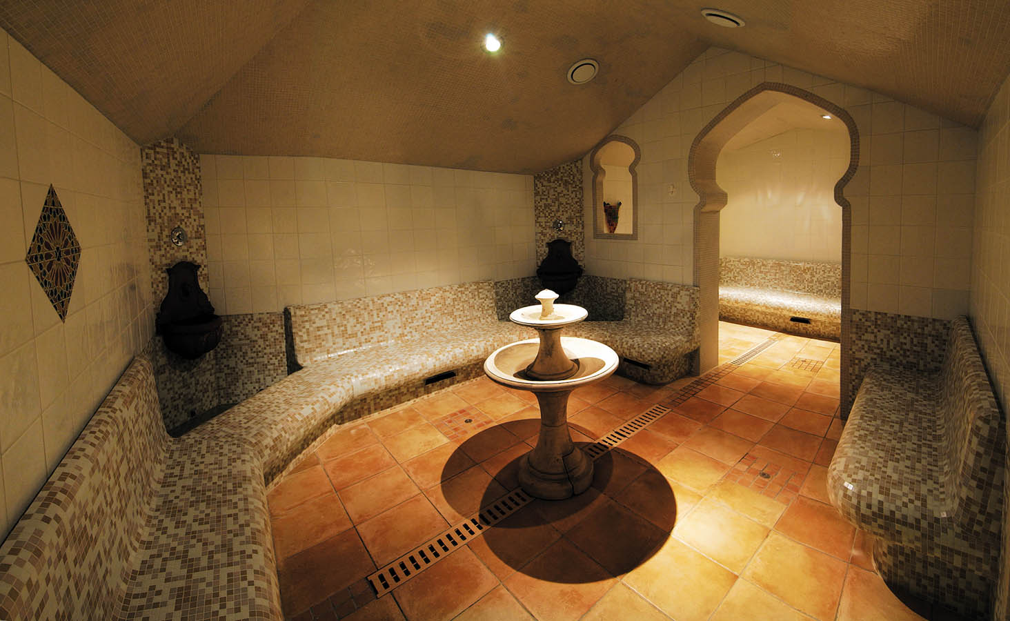 Hammam at Grand Hotel des Thermes