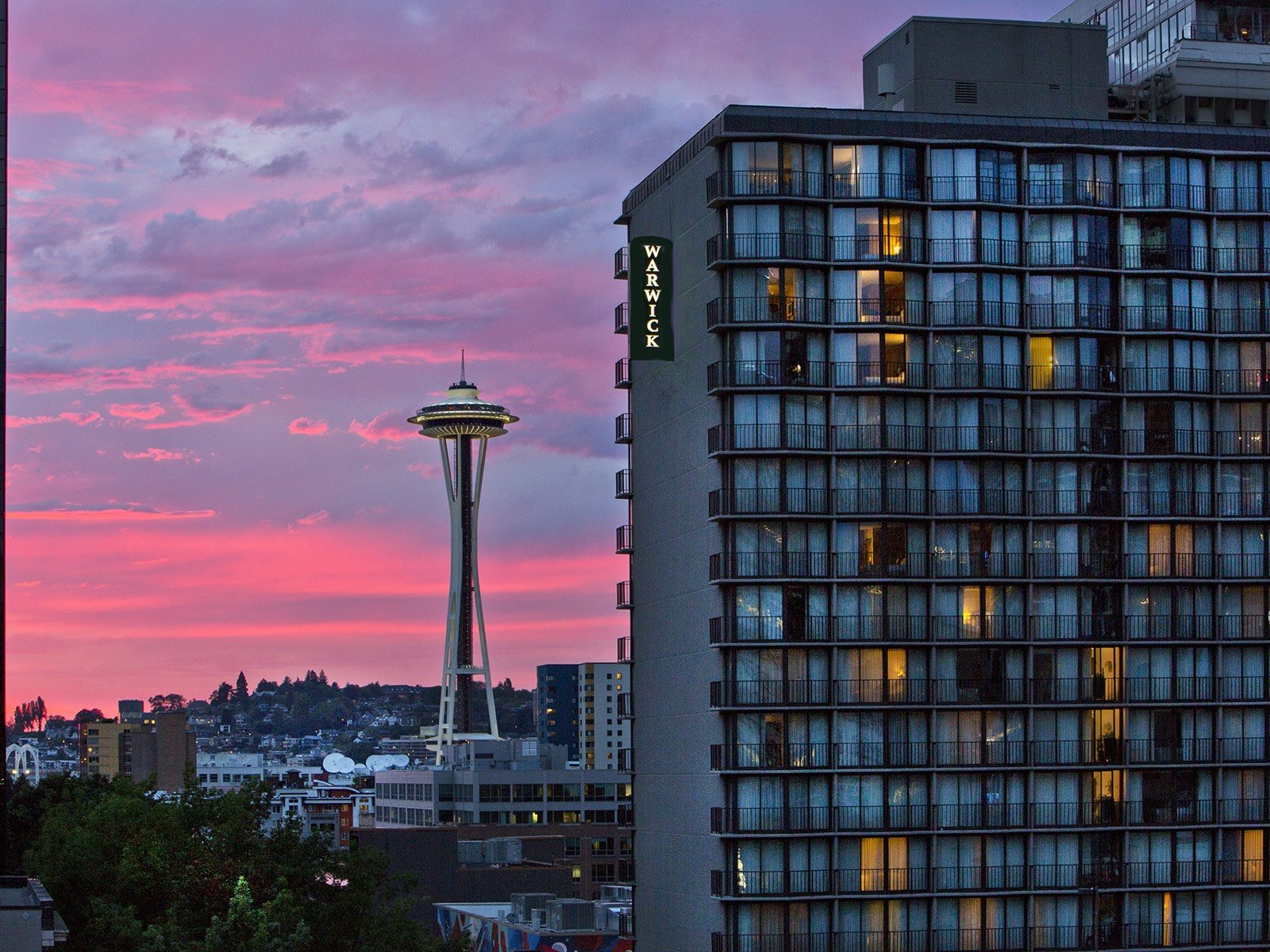 The Warwick Seattle Hotel Exterior view
