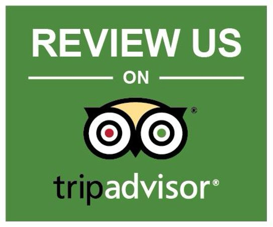 Review us at TripAdvisor Logo