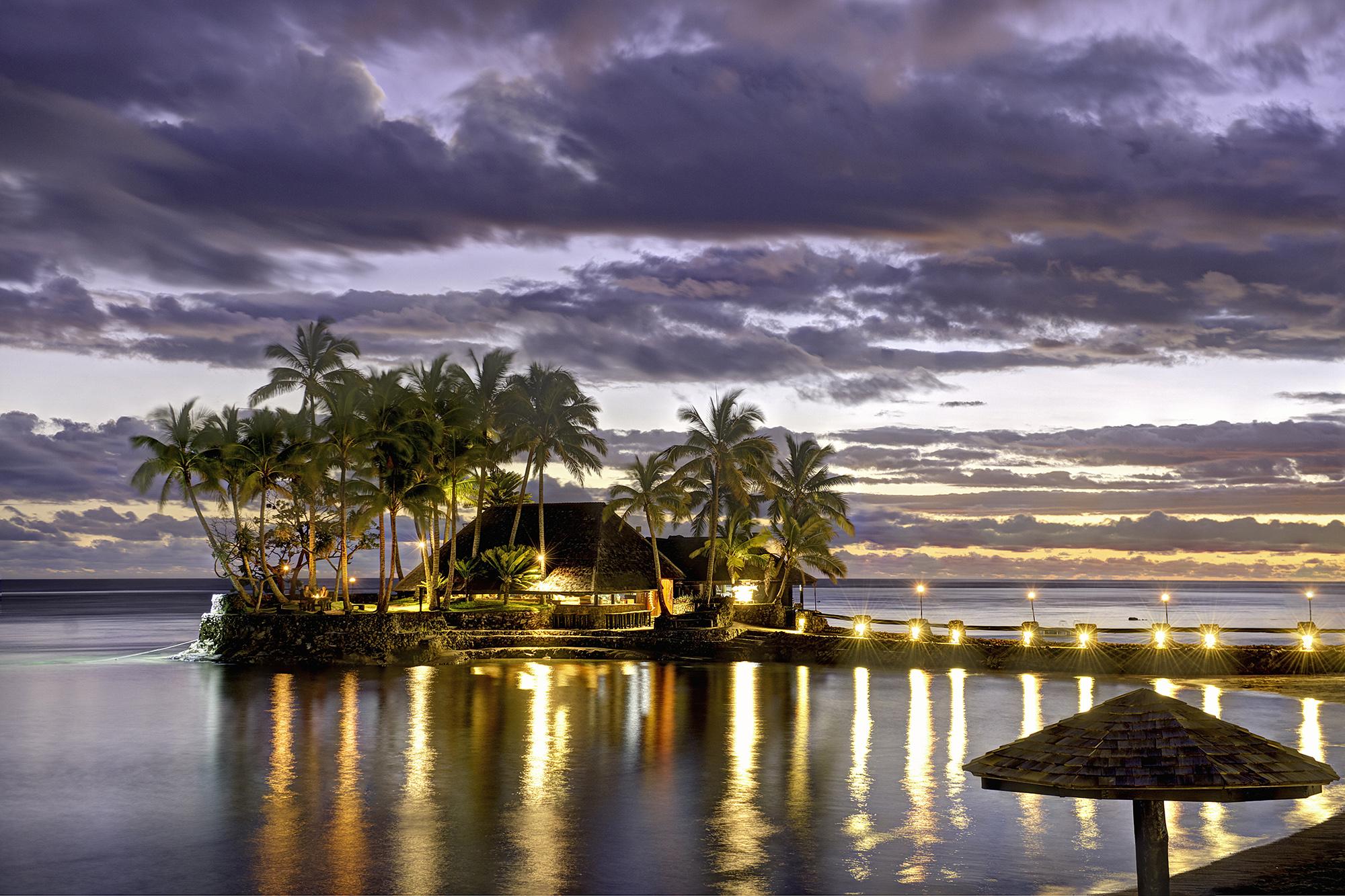 Wicked Walu Evening at Warwick Fiji