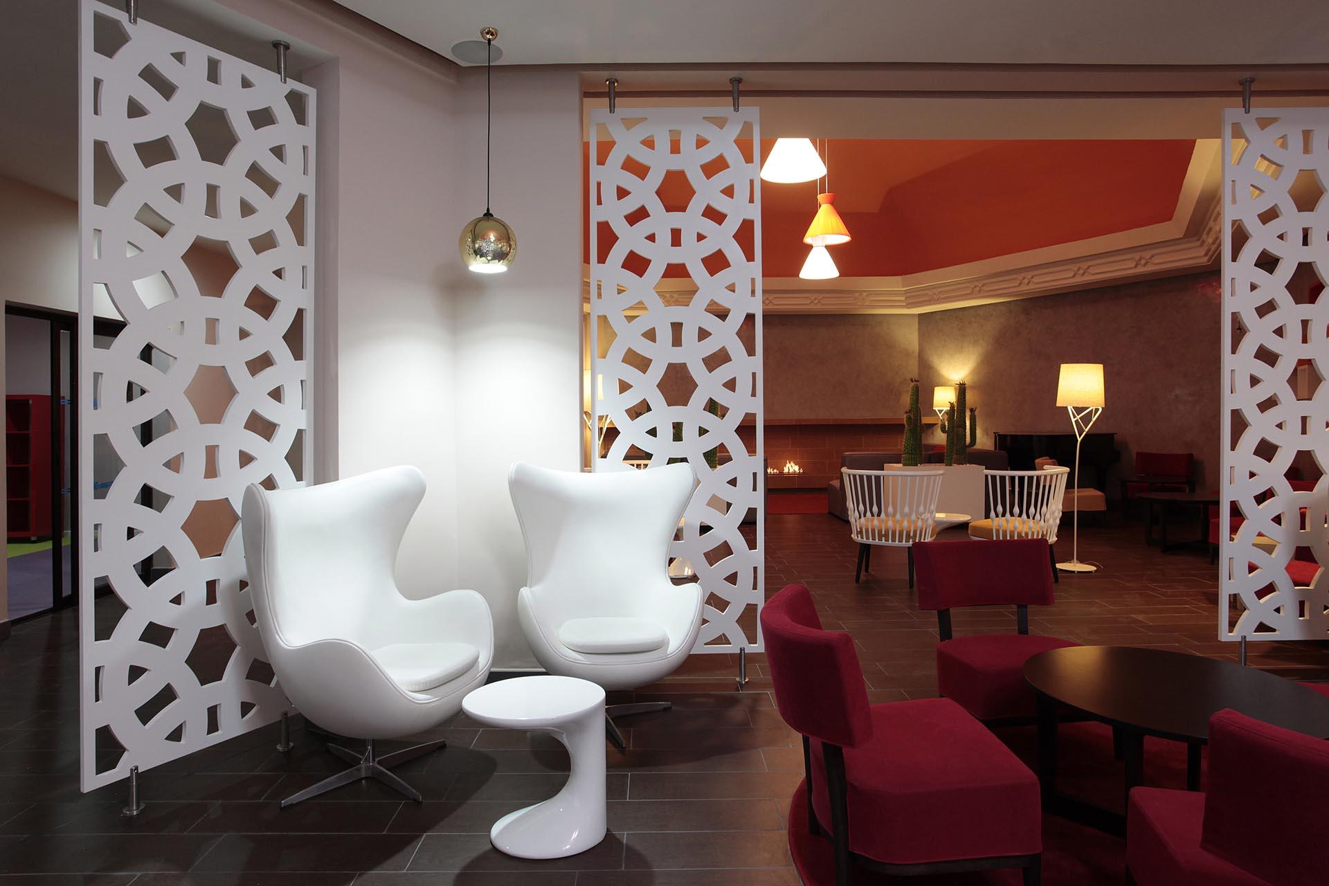Lobby at Kenzi Europa All Inclusive Hotel in Agadir, Morocco