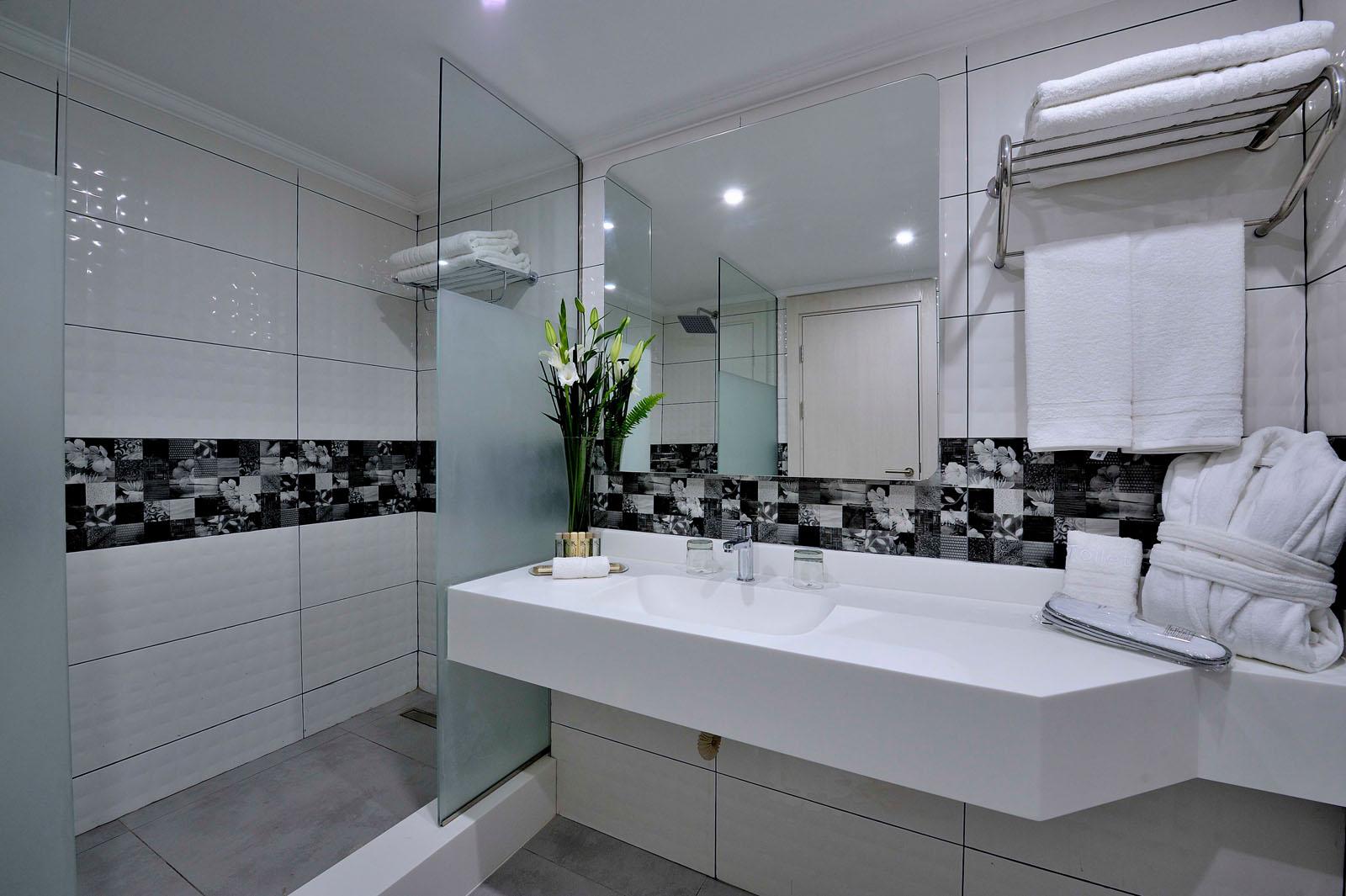 Bathroom at Kenzi Basma Hotel in Casablanca, Morocco