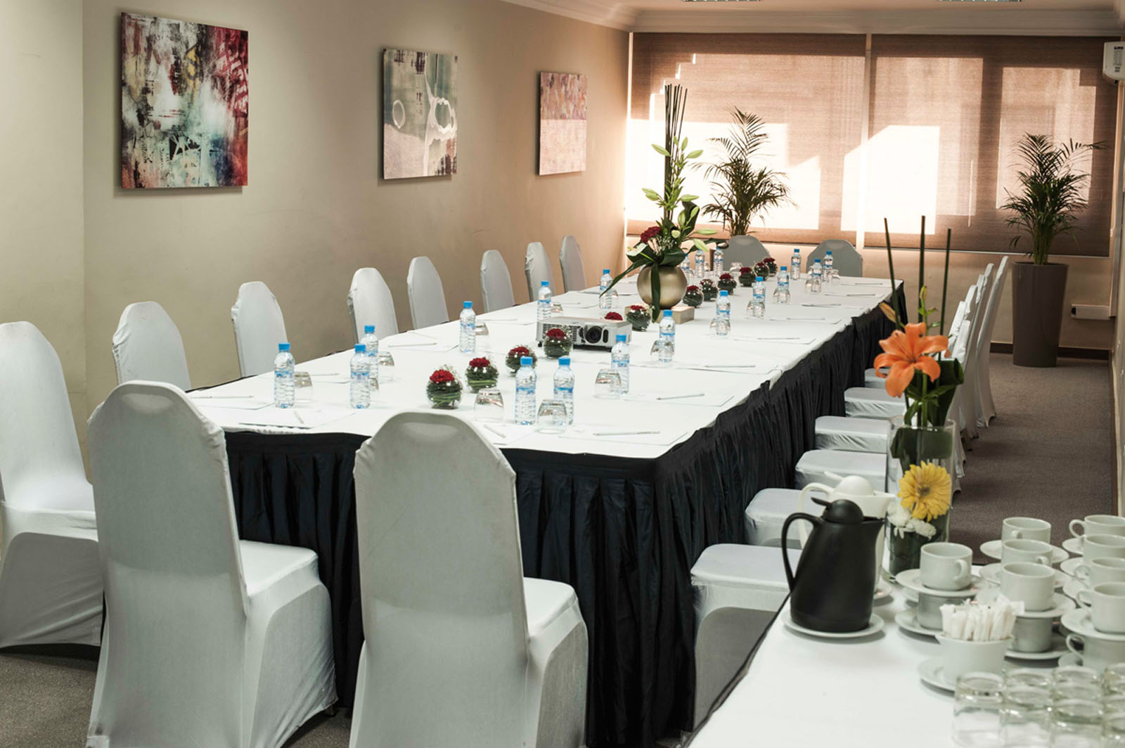 Meeting room at Kenzi Basma Hotel in Casablanca, Morocco