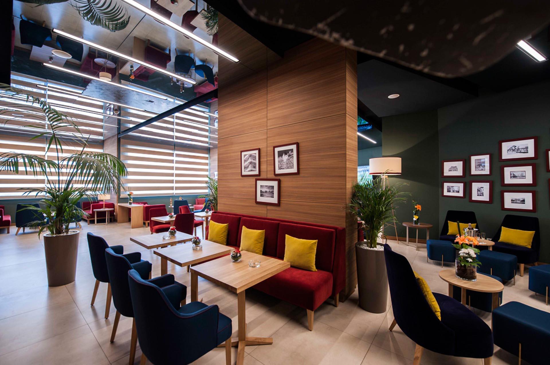 Lobby Bar at Kenzi Basma Hotel in Casablanca, Morocco