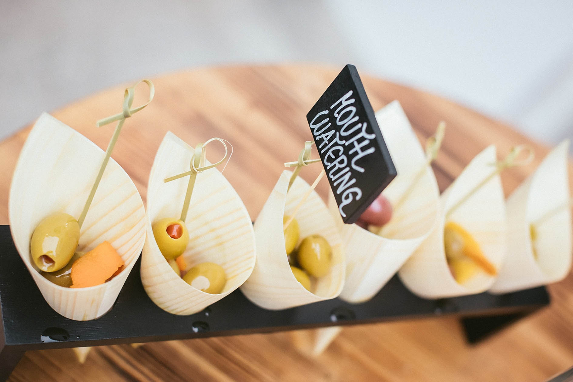 Appetizers at Union Hotels Collection in Ljubljana
