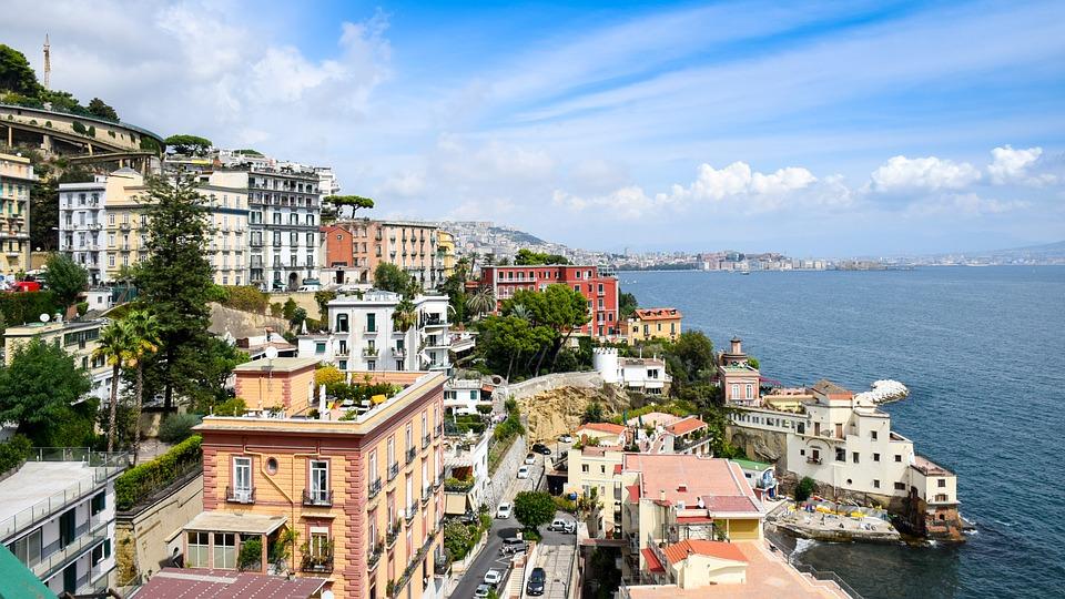 Napoli, vista sul Golfo