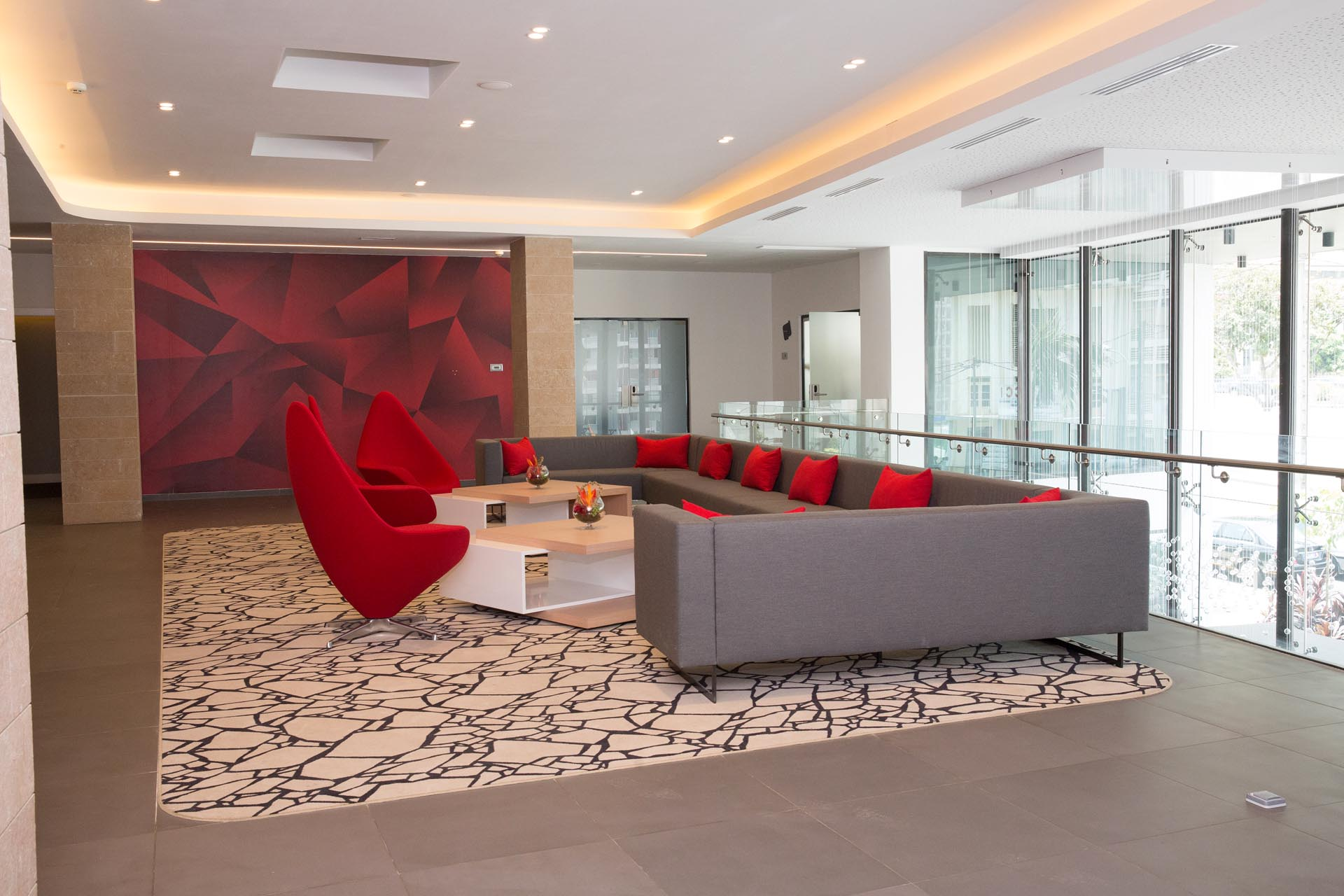 Conferences lobby at Seen Hotel Abidjan Plateau