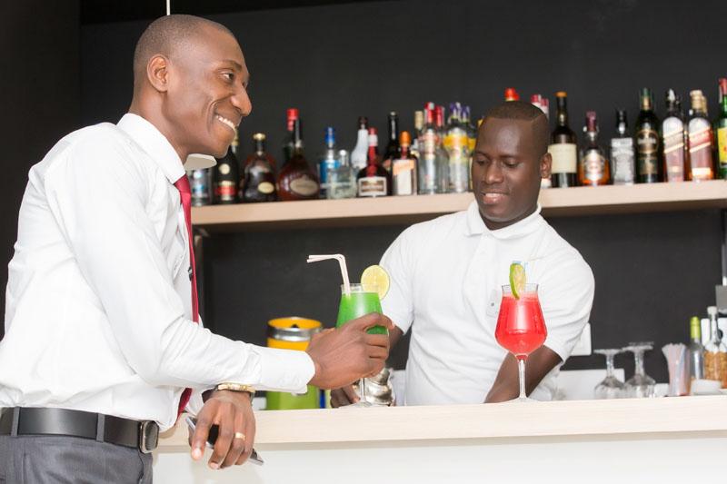 Drinks at Seen Hotel Abidjan Plateau