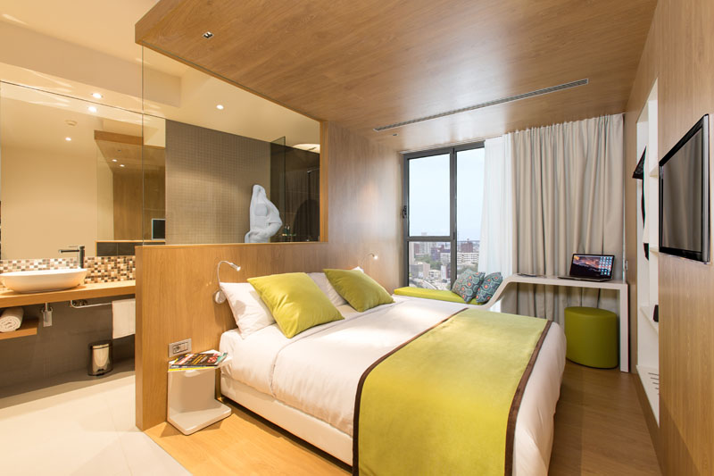 Accommodation at Seen Hotel Abidjan Plateau