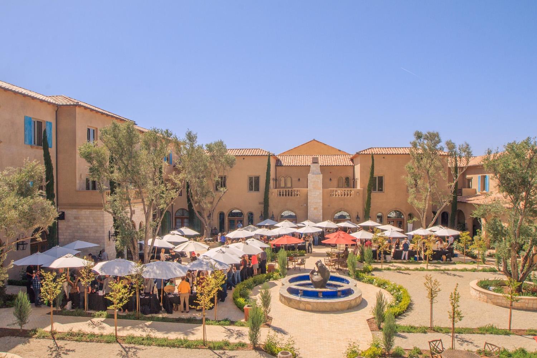 Exterior of Allegretto Vineyard Resort in Paso Robles