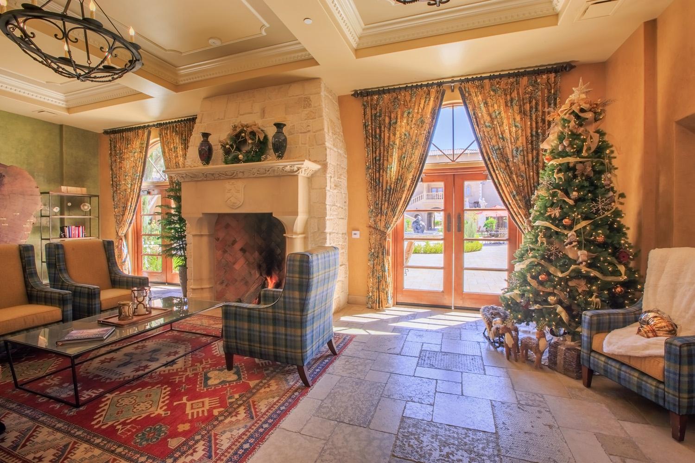 Interiors at Allegretto Vineyard Resort in Paso Robles