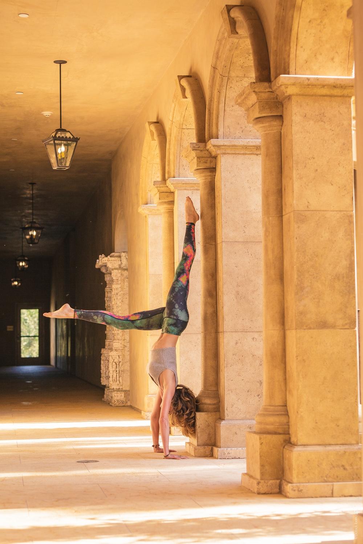 Yoga at Allegreto Vineyard Resort  Paso Robles