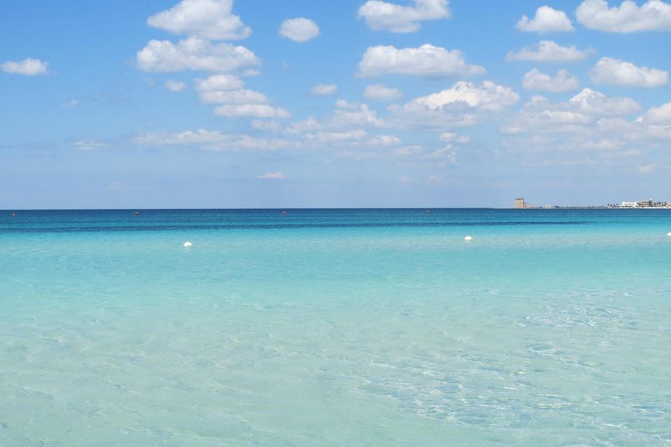 Sea in Puglia