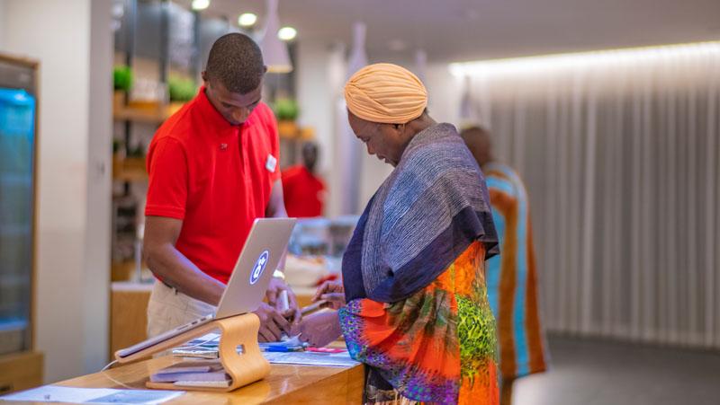 Guests at Yaas Hotel Almadies Dakar