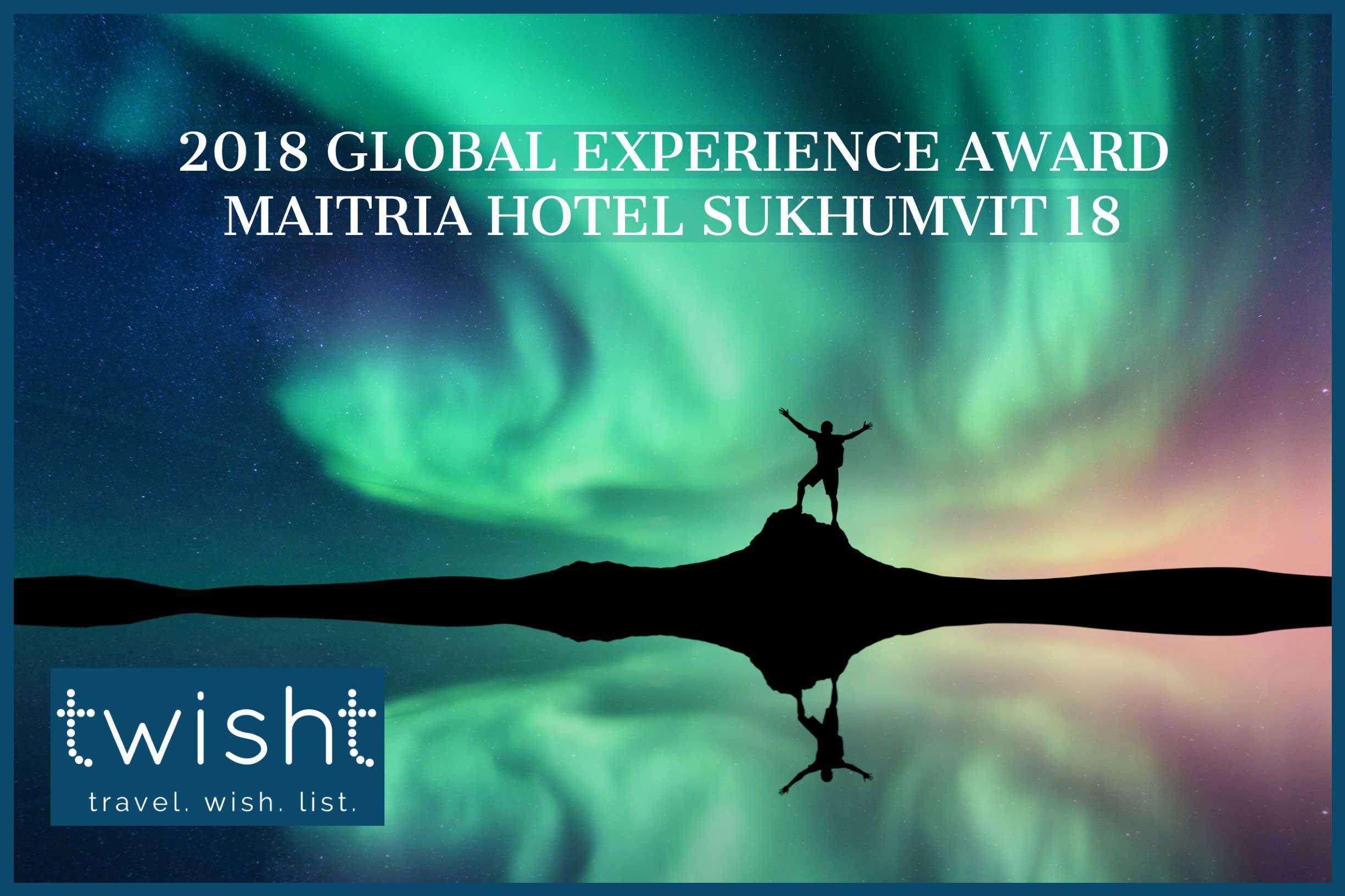 Maitria Hotels & Residences Award Maitria