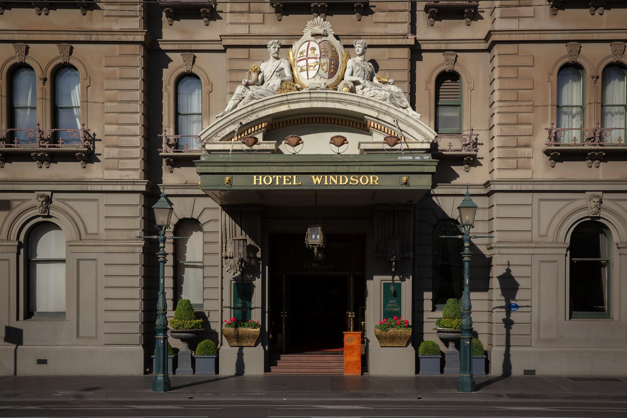 The Hotel Windsor Melbourne Exterior