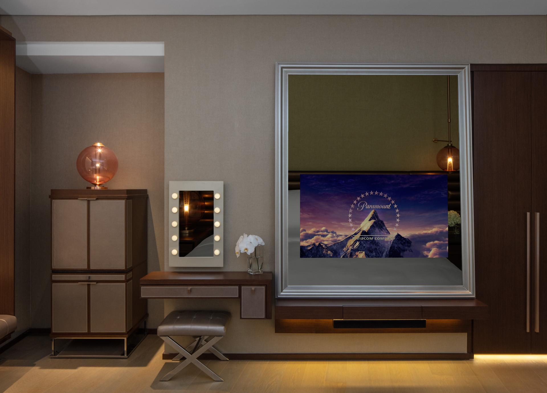 Scene Rooms Mirror TV