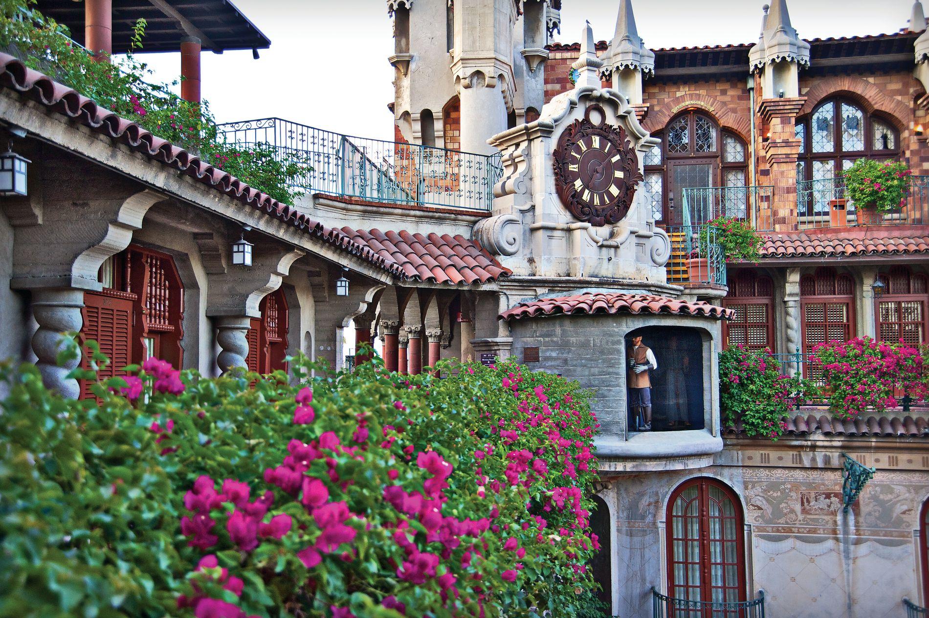 Anton clock at Mission Inn Riverside