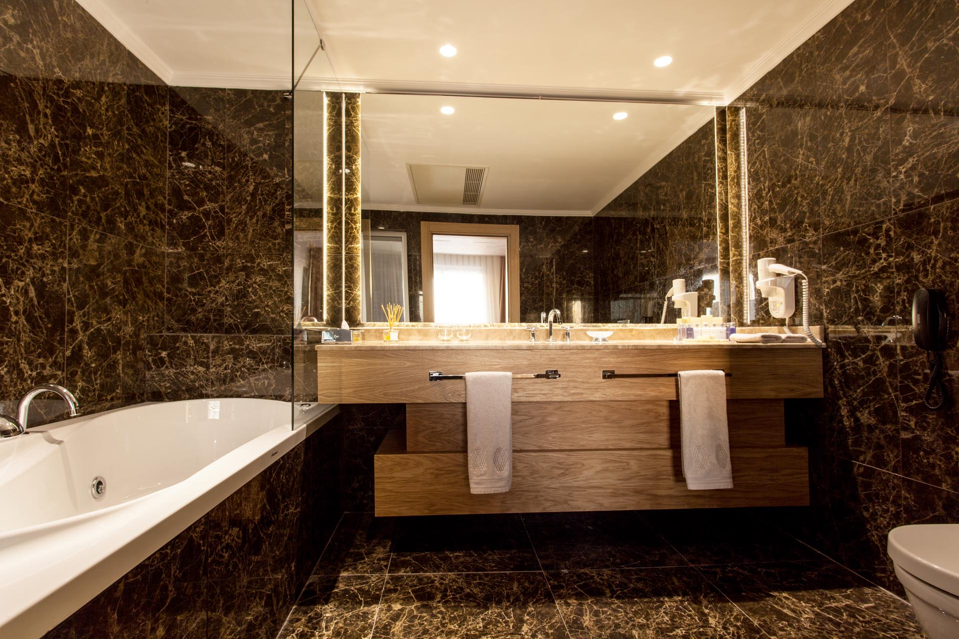 Grand Deluxe Suite Bathroom at WOW Istanbul Hotel