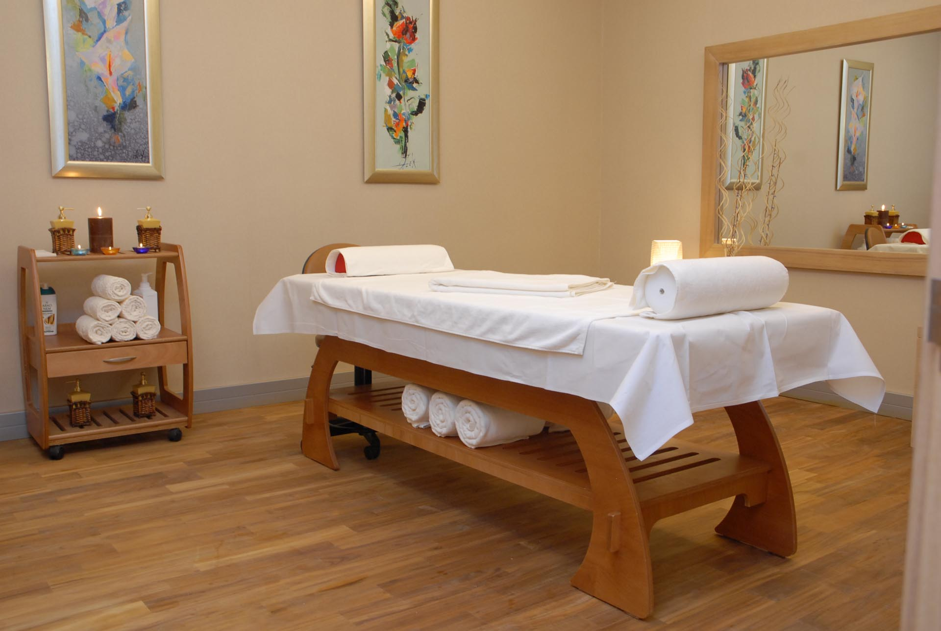 Massaging Table in Spa at WOW Istanbul Hotel