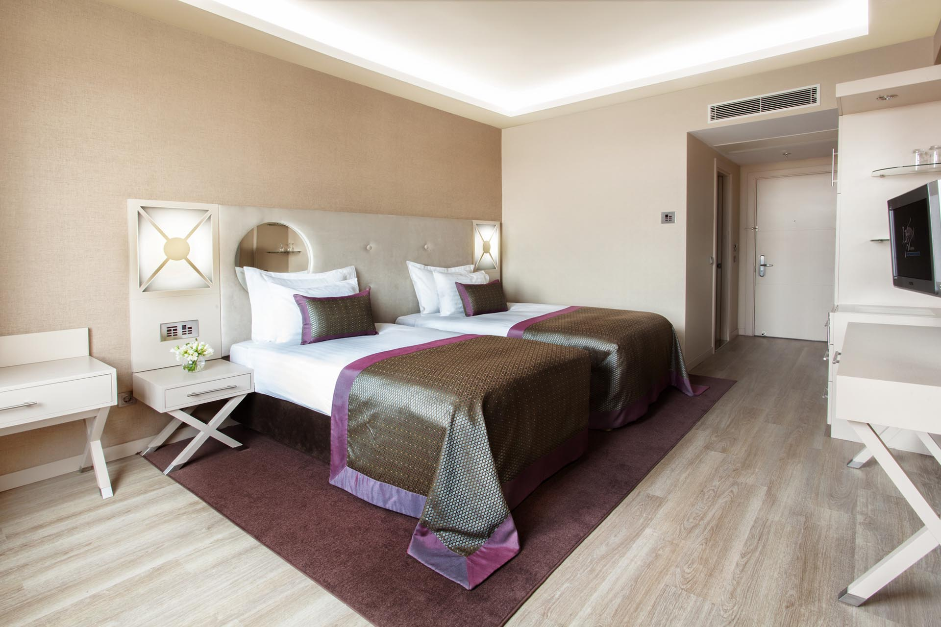 standard Room with Twin Bed at WOW Istanbul Hotel
