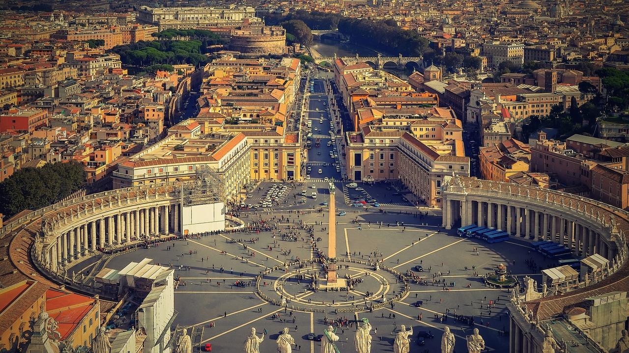 Piazza San Pietro, Vaticano - Roma