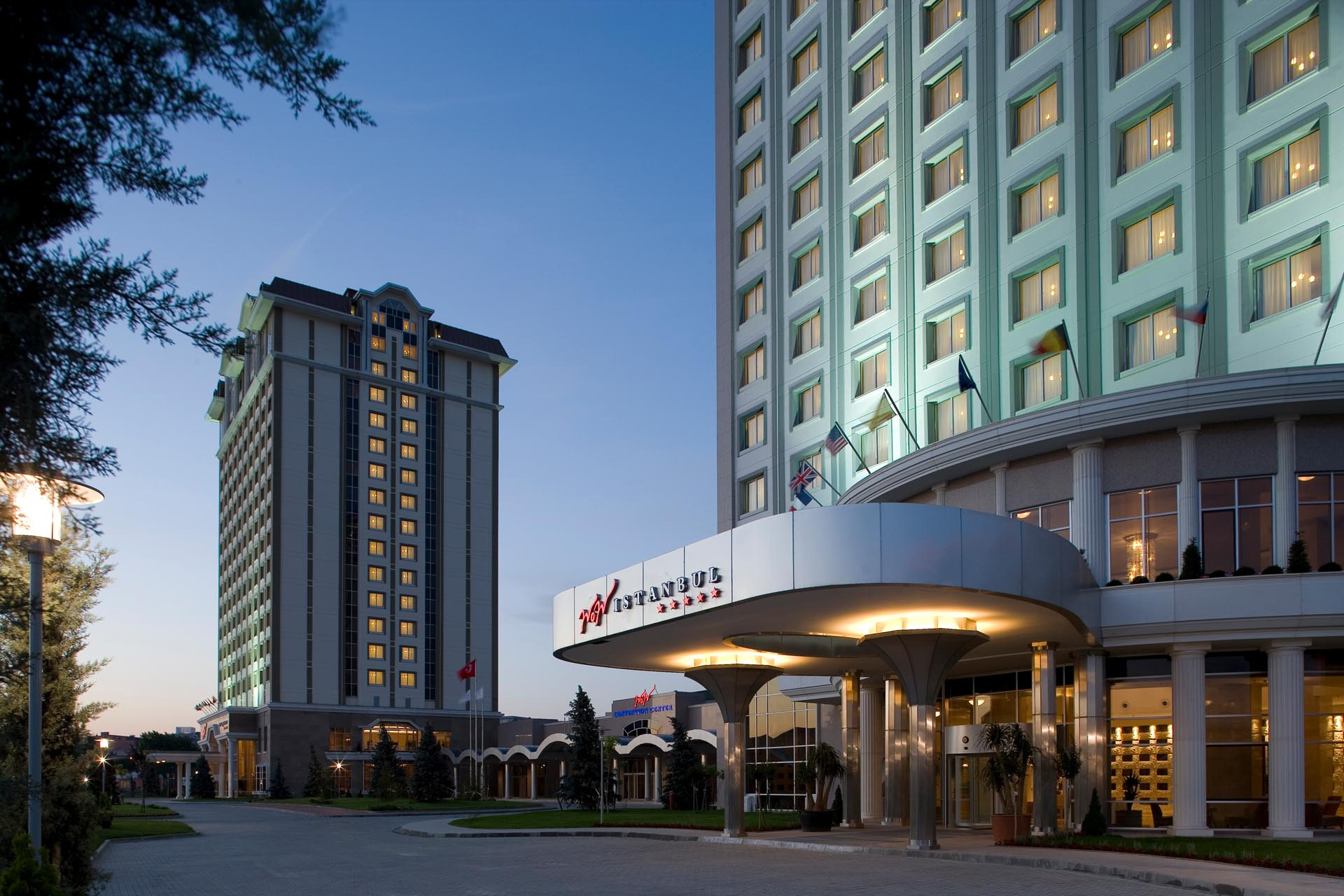 Exterior view of WOW Istanbul Hotel