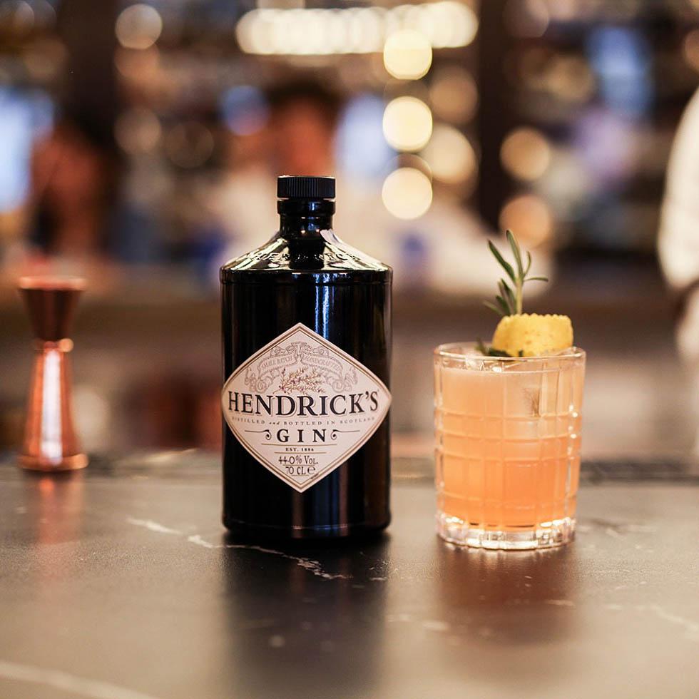Cocktails at Gran Hotel Inglés in Madrid