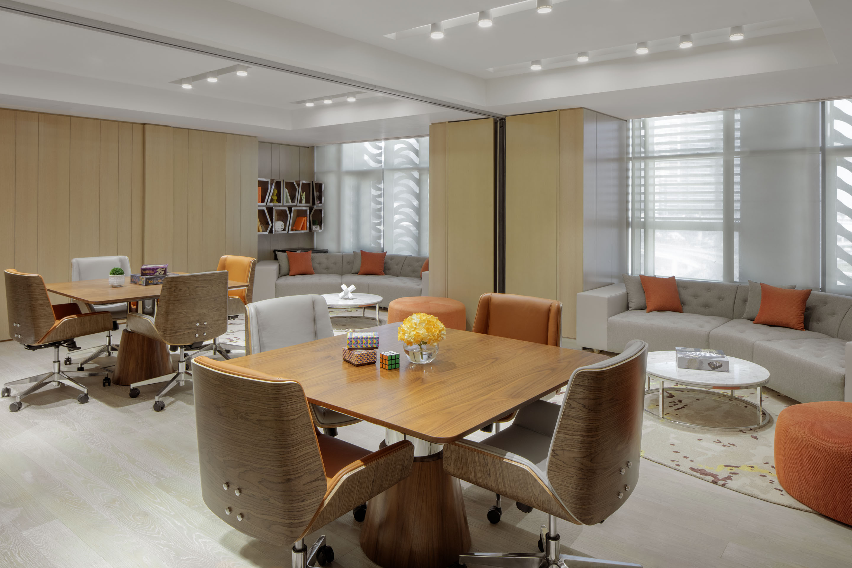 Work and Play Suite Area  at Paramount Hotel Dubai