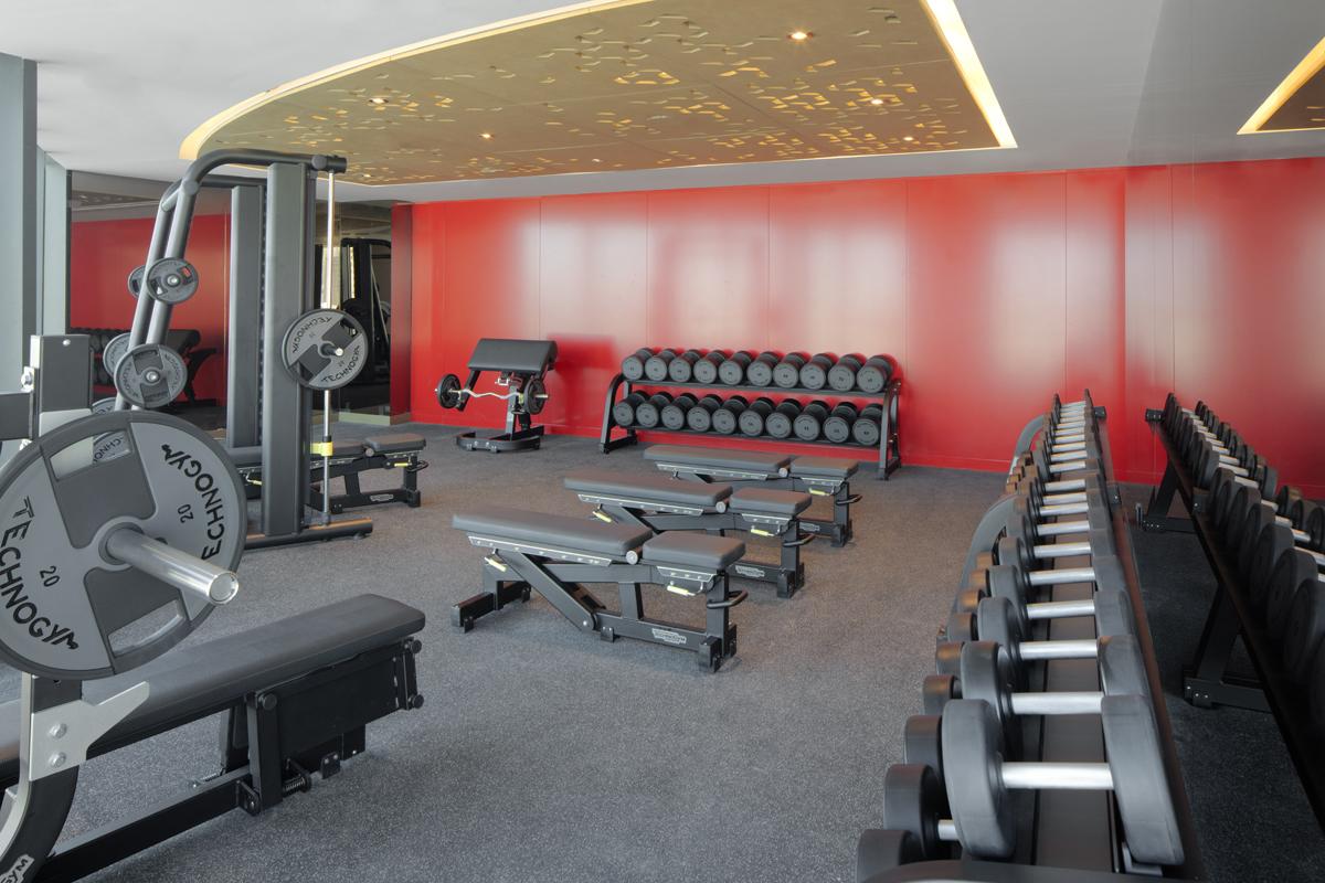 Fitness at Paramount Hotel Dubai
