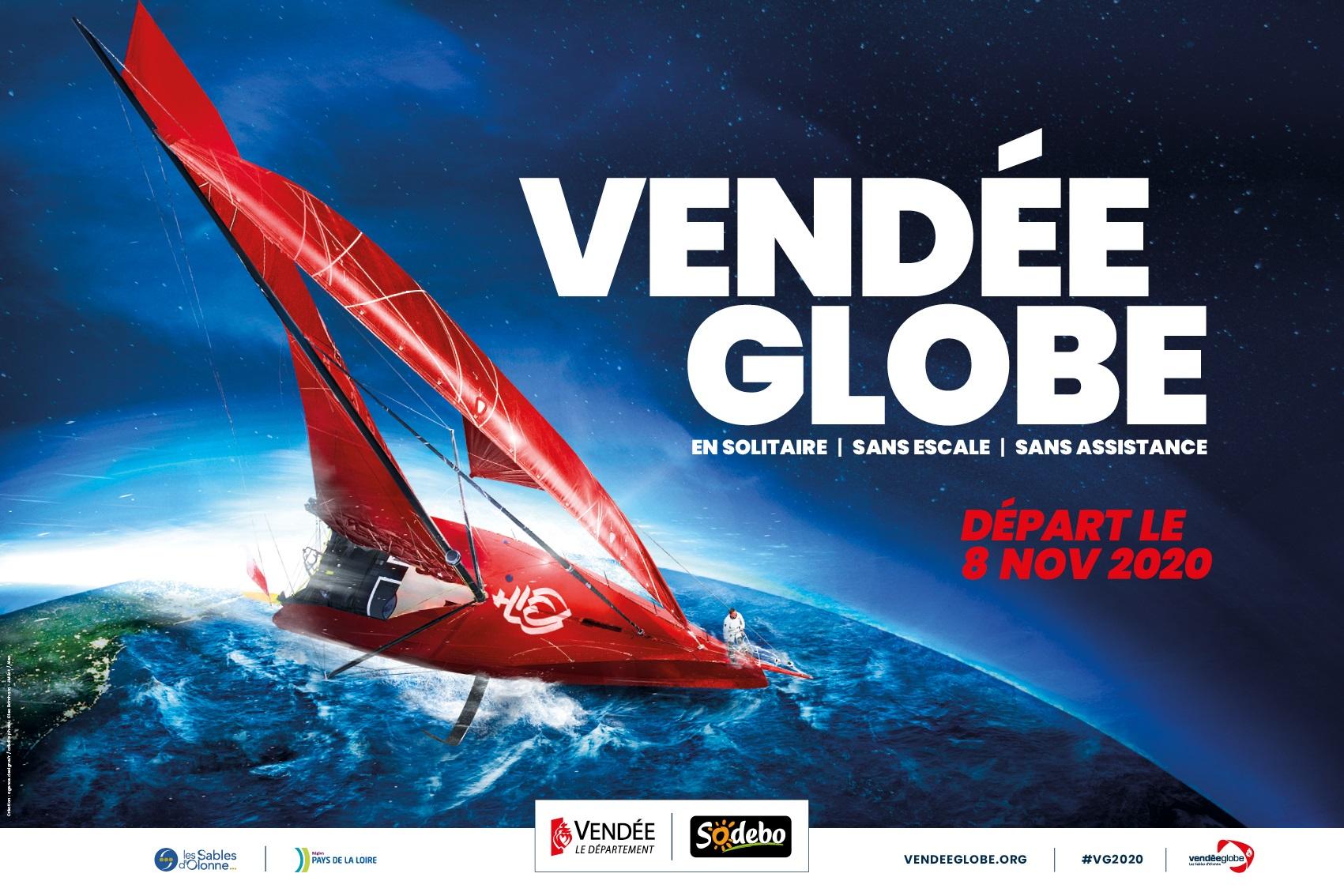 Le grand départ du Vendée Globe le 8 novembre 2020