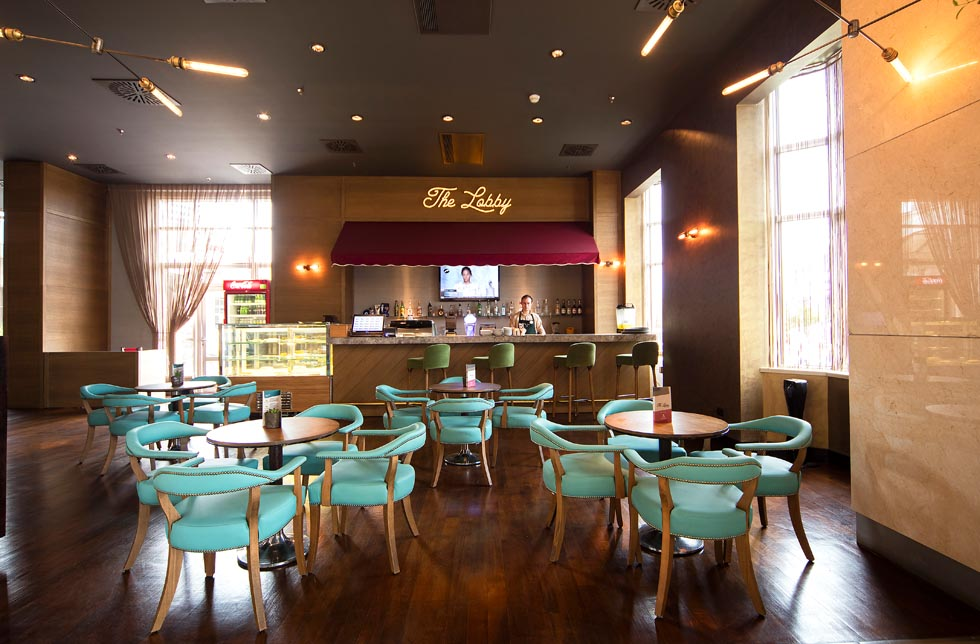 The Lobby Café at WOW Airport Hotel