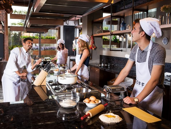 Kitchen of the Soffa Restaurant at WOW Airport Hotel
