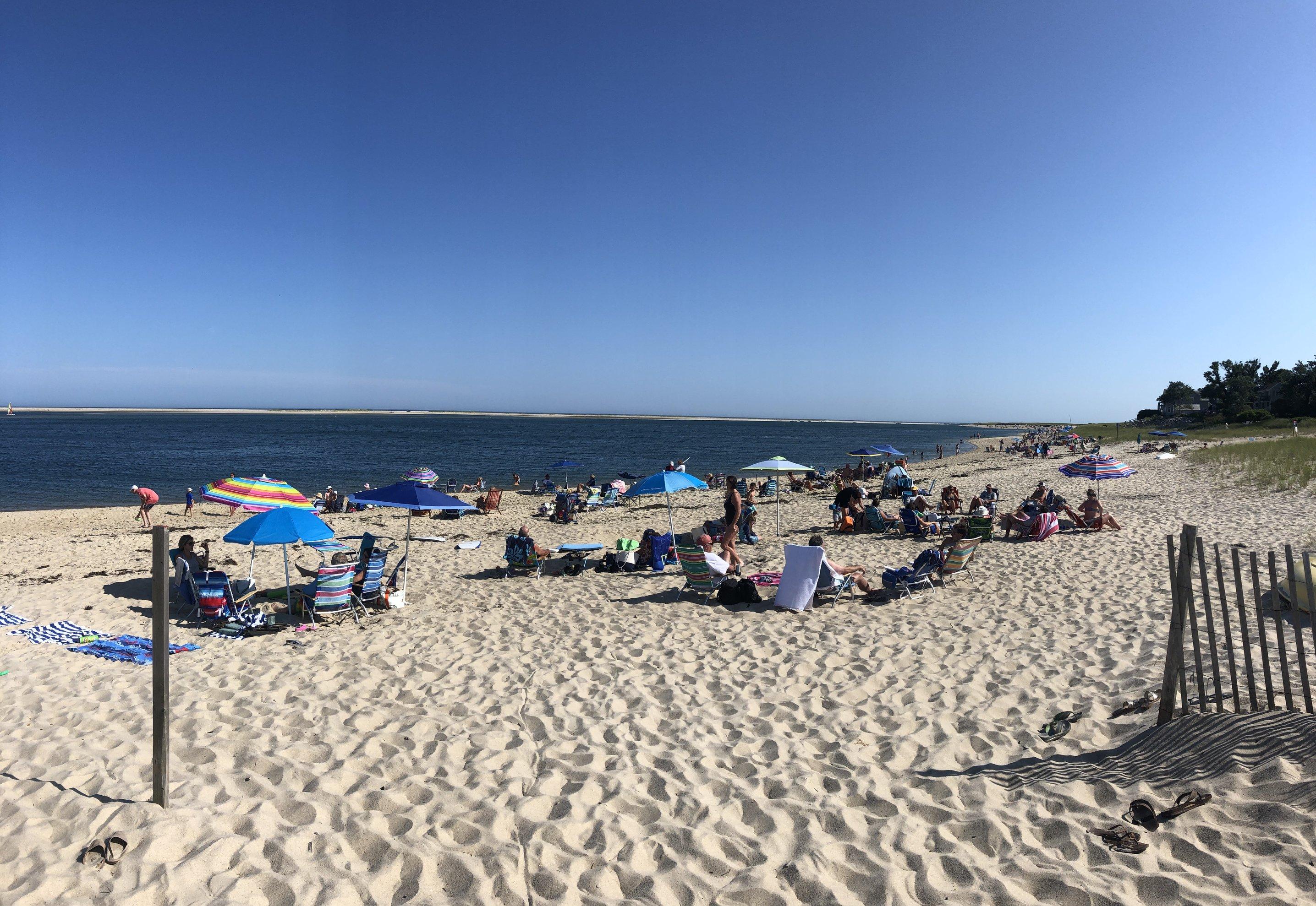 End of Lighthouse beach