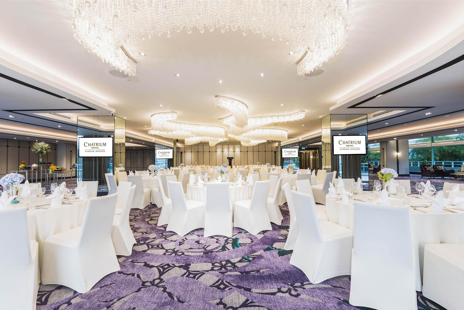 Chatrium Hotel Riverside Bangkok Ballroom